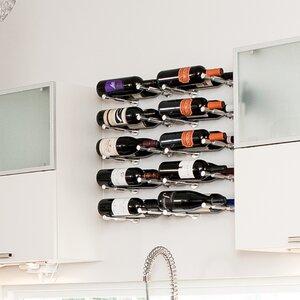 Vino Pin Series 1 Bottle Wall Mounted Wine Rack (Set of 4)
