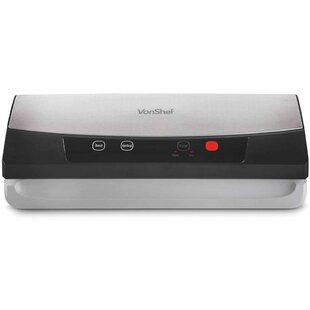 Food Vacuum Sealer Machine With One Touch Operation by VonShef