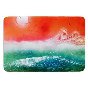 Dream Seascape by Infinite Spray Art Bath Mat
