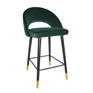 Doiron Velvet Counter 25 Bar Stool