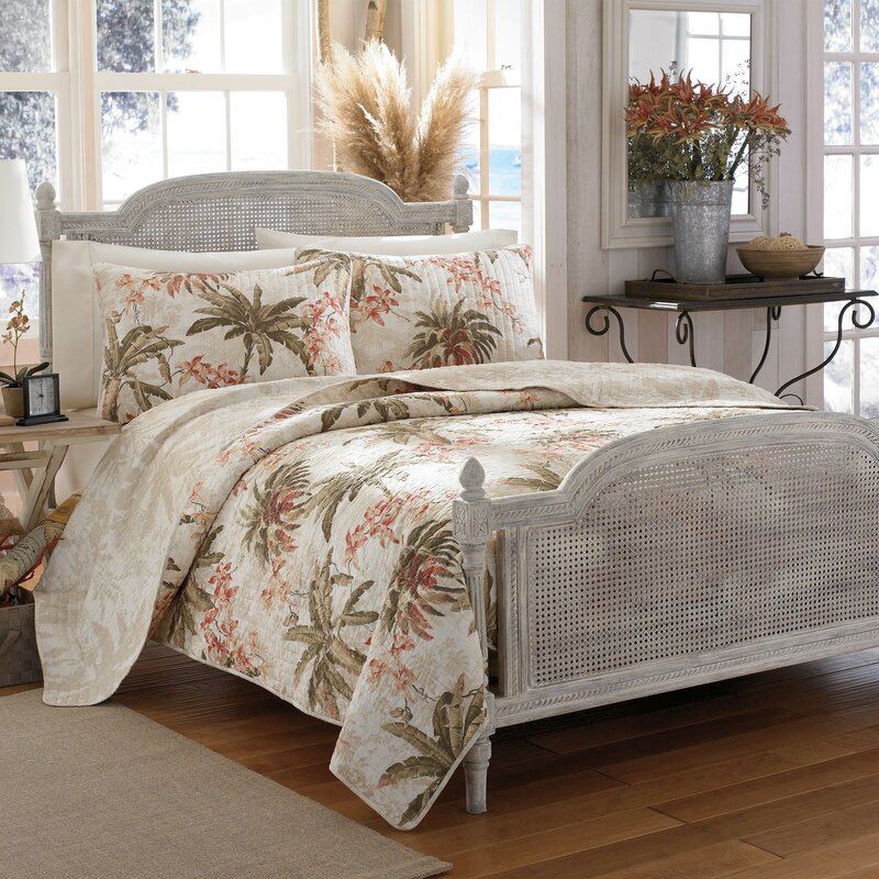 Tommy Bahama Bedding Bonny Cove Reversible Quilt Set by Tommy ...