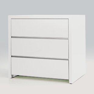 Blanche 3 Drawer Nightstand (Set Of 2)