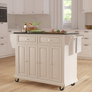 Ordinaire Pottstown Kitchen Island With Granite Top