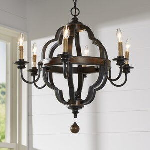 Enthoven 6-Light Candle-Style Chandelier