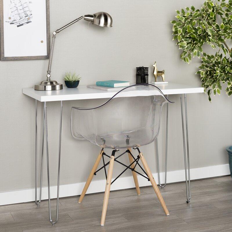 Bisson Hairpin Leg Wood Writing Desk
