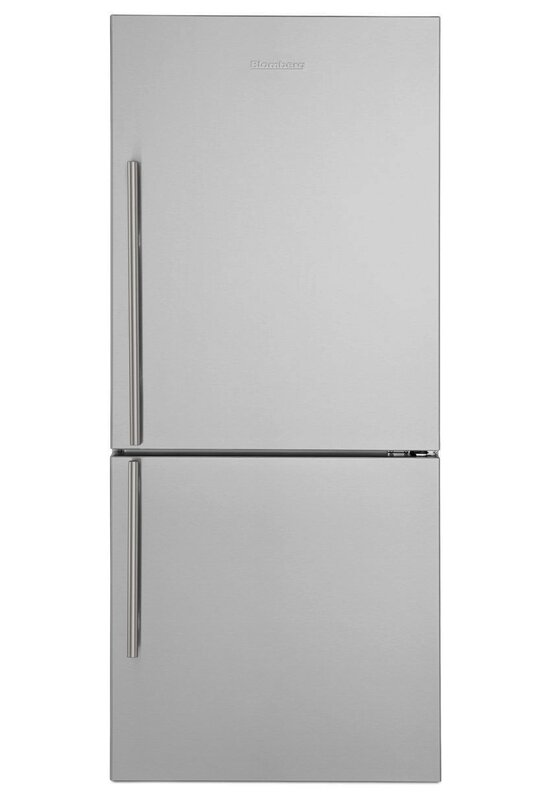Blomberg 16.2 cu. ft. Energy Star Bottom Freezer Refrigerator  Handle Location: Left