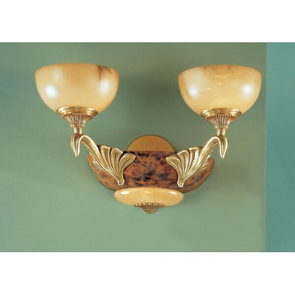 Classic Lighting Queen Anne I 2-Light Wall Sconce | Wayfair