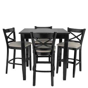 Weissman 5 Piece Pub Table Set