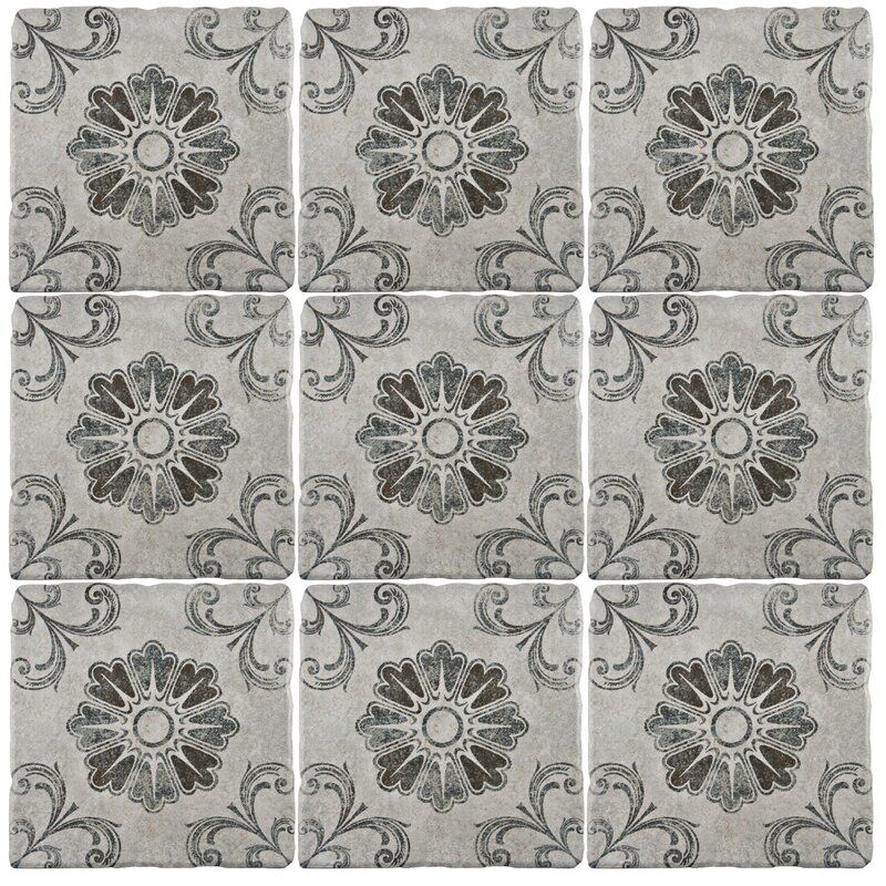 "EliteTile Diego 7.75"" x 7.75"" Ceramic Field Tile in Matte ..."