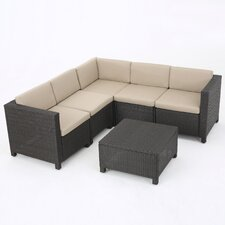 Stockwood 6 Piece Sectional with Cushion