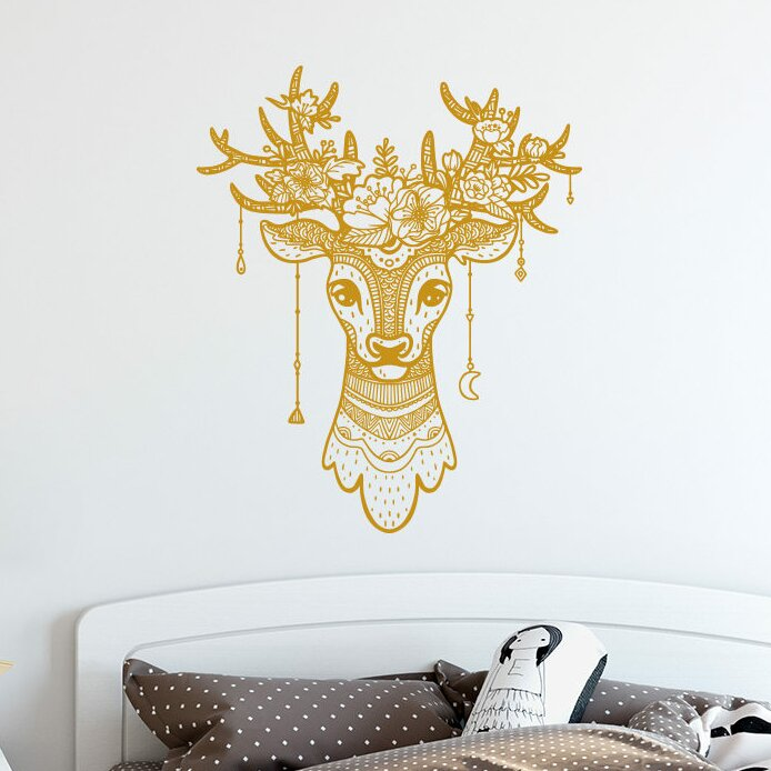 Colorful Faux Antler Wall Decor Picture Collection - Wall Art ...
