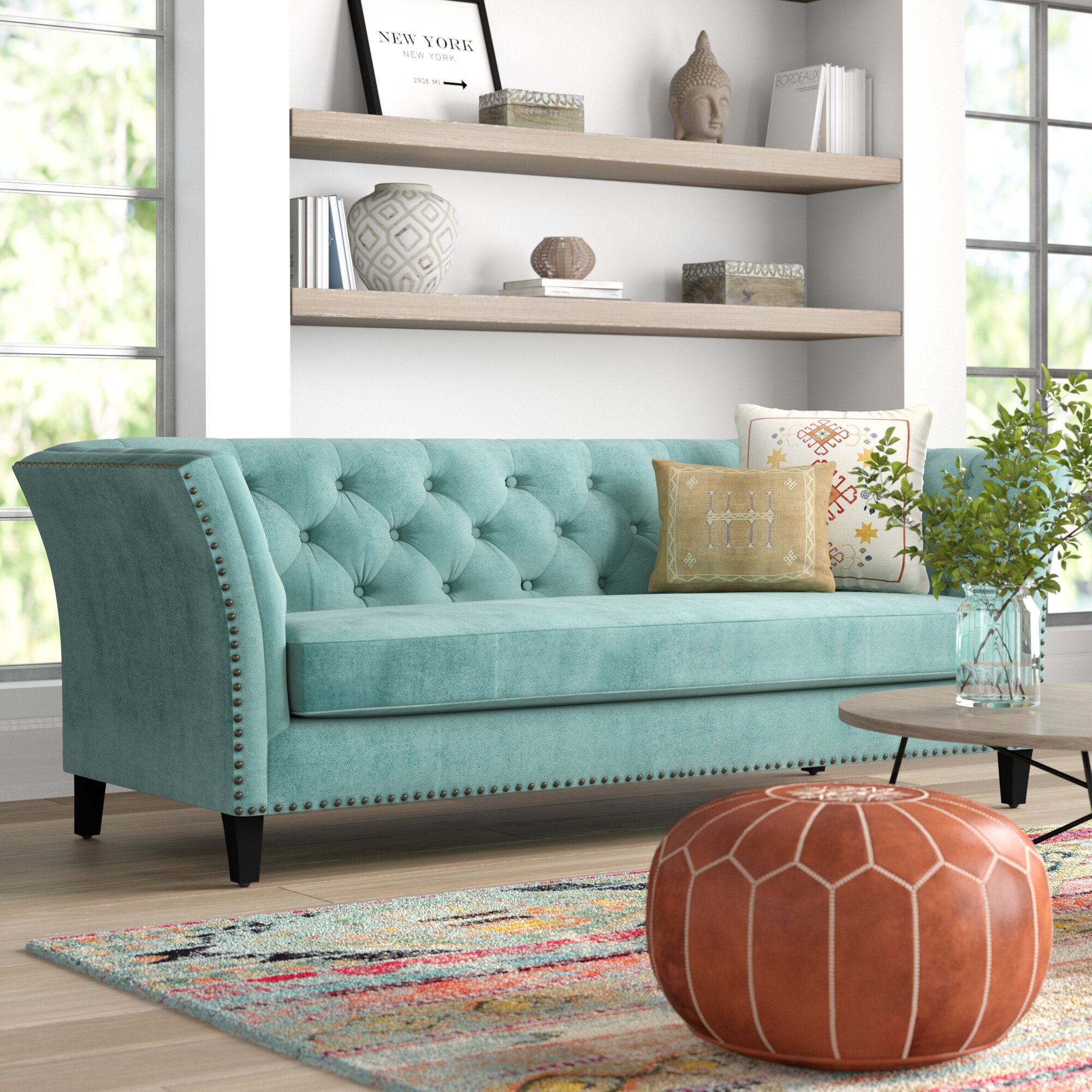 Mistana gilmore chesterfield sofa reviews wayfair