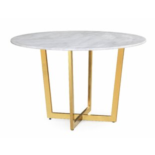Modern Contemporary Gold Dining Table Base Allmodern