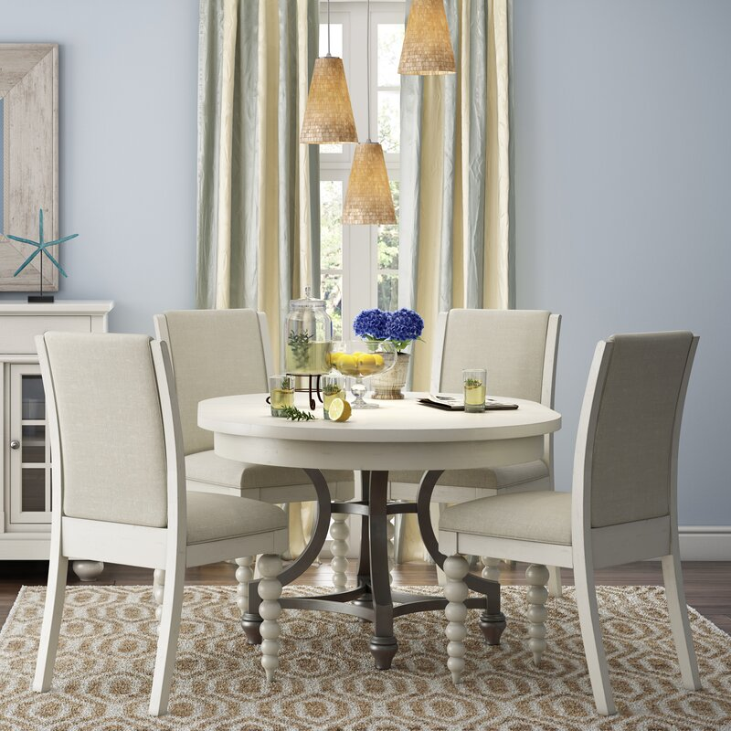 Lark Manor Saguenay Round Dining Table Reviews