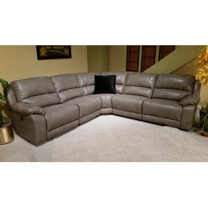 Floraville Reclining Sectional by Red Barrel..