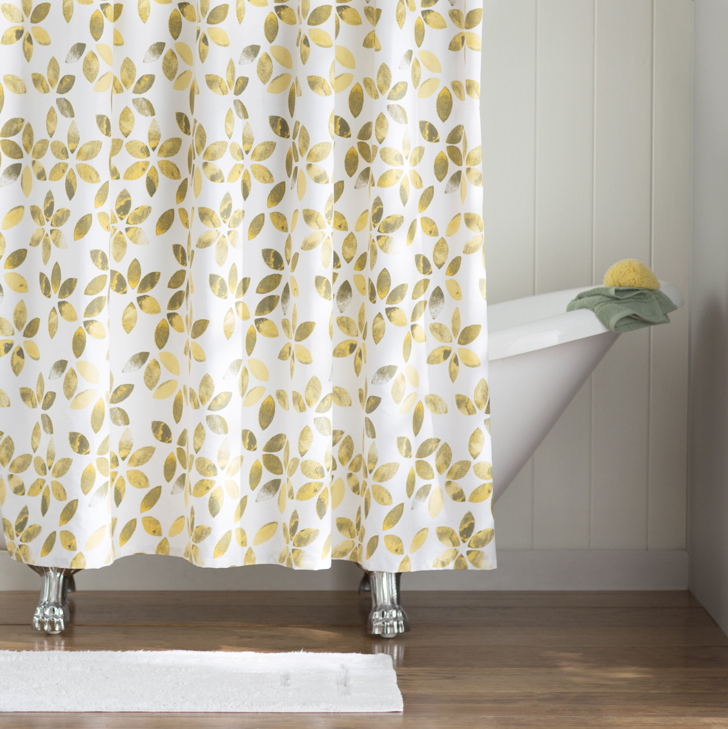 August Grove Autumn Cotton Shower Curtain & Reviews | Wayfair