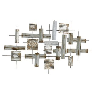 Modern Abstract Metal Wall Décor