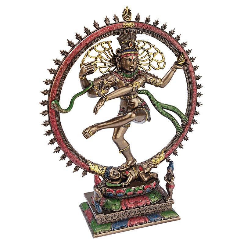 Dancing Shiva Goddess of Cosmic Energy Desktop Figurine
