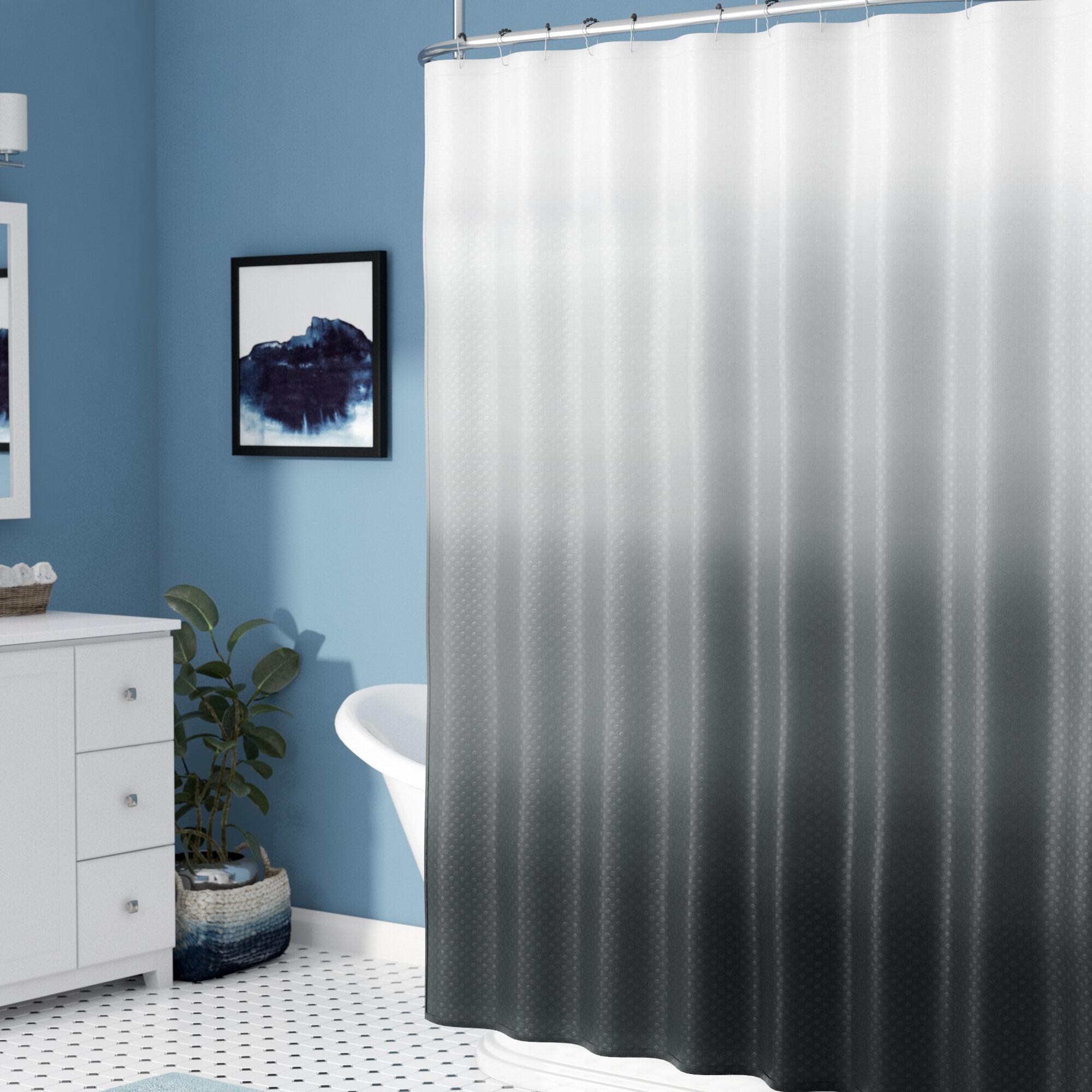Zipcode Design Charlesworth Waffle Fabric Weave Shower Curtain Reviews
