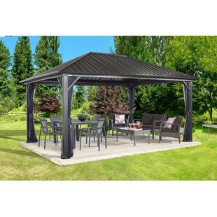 Attrayant Genova Aluminum Patio Gazebo