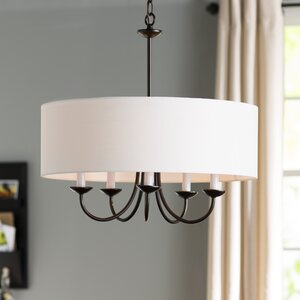 Burton 5-Light Drum Chandelier