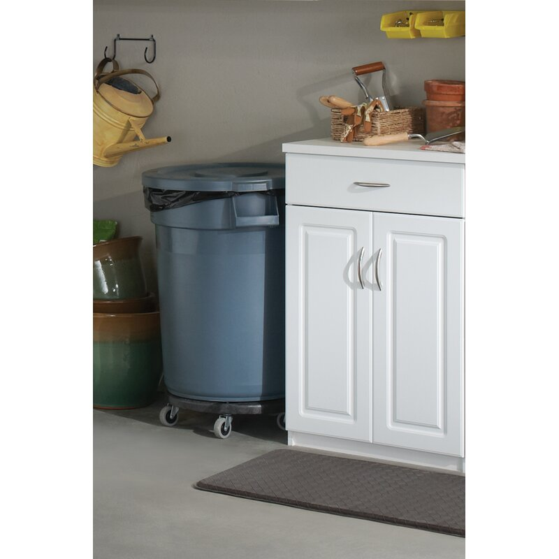 Dimensions 35 51 H X 24 02 W X 18 03 D 2 Door And Single Drawer Base Cabinet