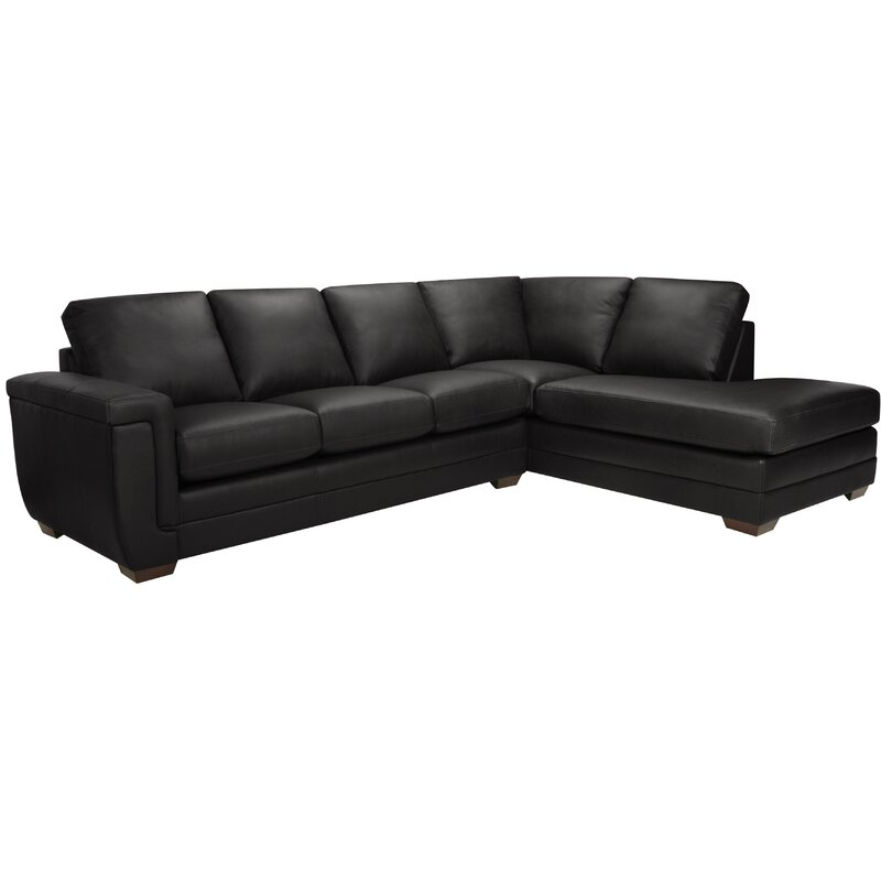 Gile Italian Leather Sectional