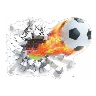 Imagineer Scorched Soccer Score Wall Decal