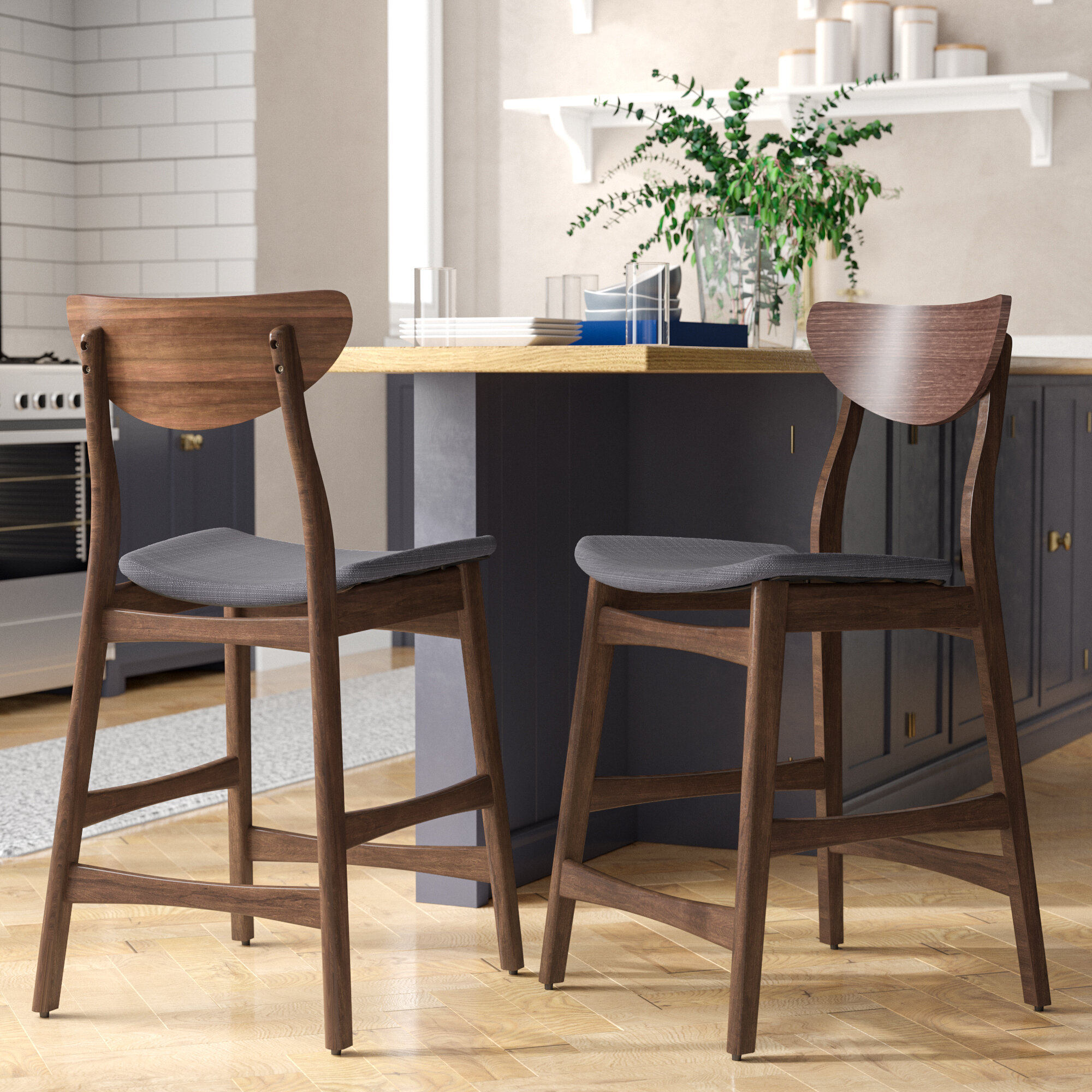 Wade logan laceyville 24 bar stool reviews wayfair ca