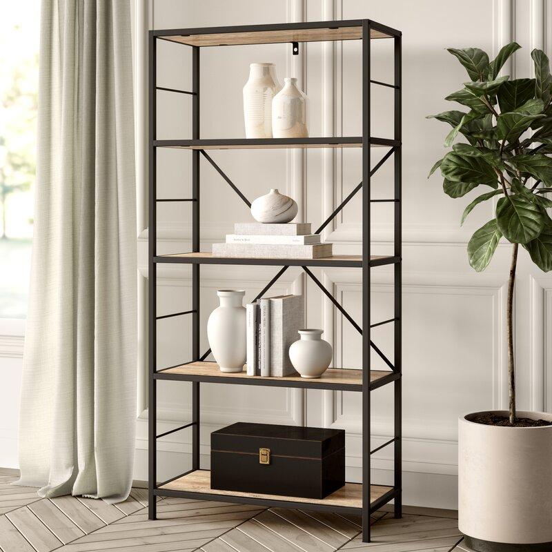 Greyleigh Macon Etagere Bookcase & Reviews | Wayfair