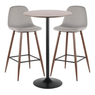 Blaisdell 3 Piece Pub Table Set