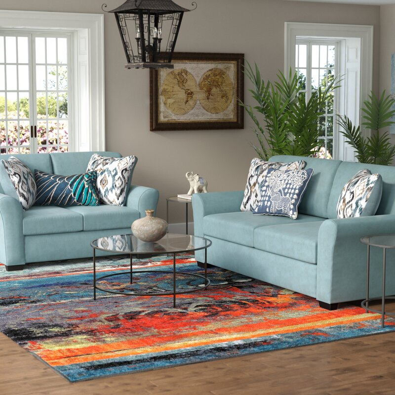 World Menagerie Easthampton 2 Piece Living Room Set Reviews