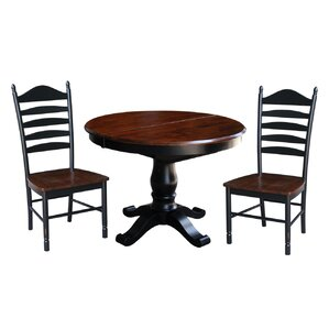 Leroy 3 Piece Dining Set by August Grove