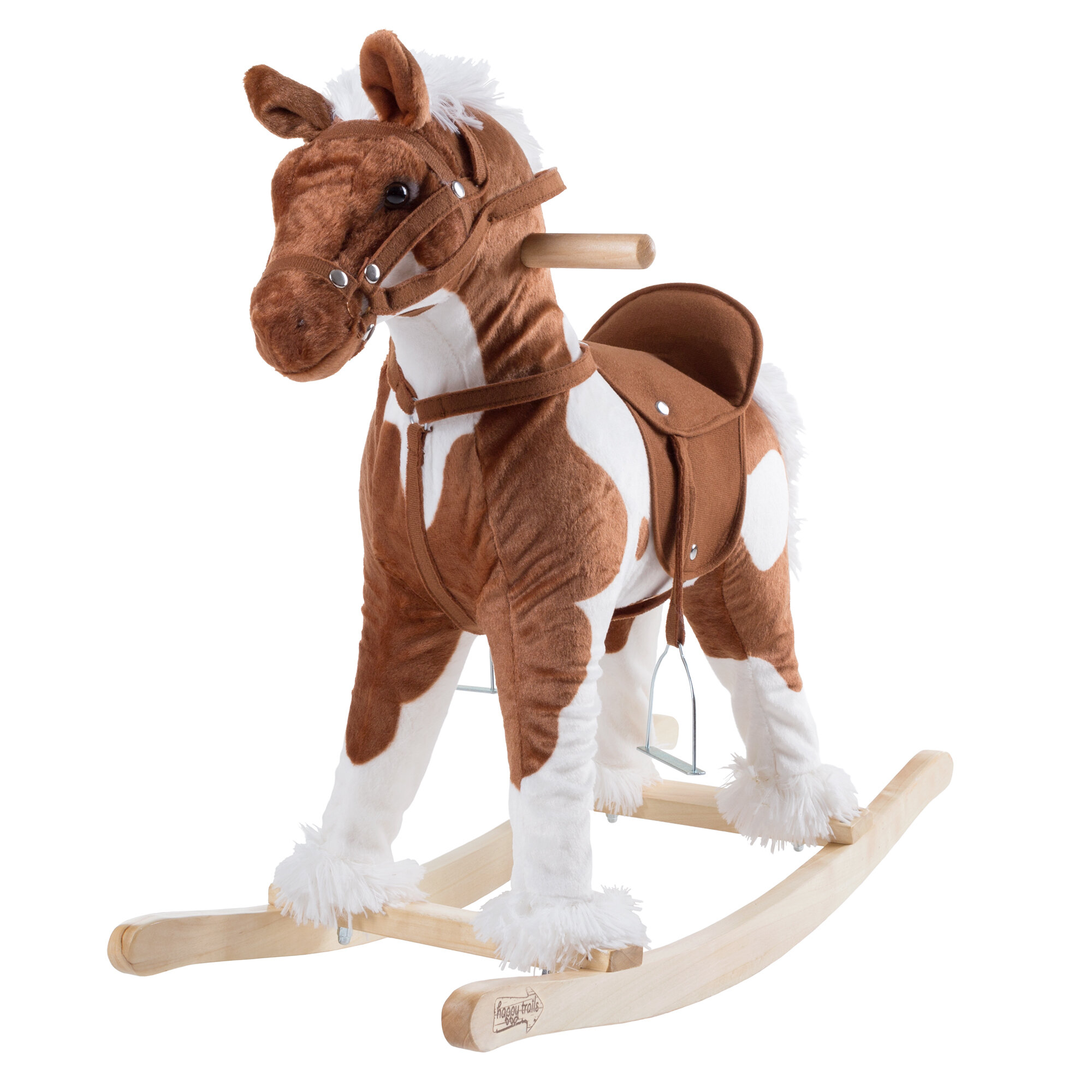Clydesdale Wooden Rocking Horse