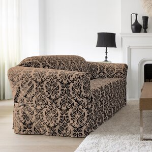 Chelsea Box Cushion Loveseat Slipcover by CoverWorks