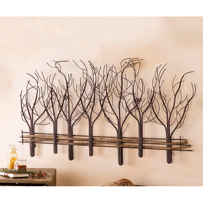 9b8c25f10d Wind & Weather Metal and Natural Vine Tree Wall Décor & Reviews ...