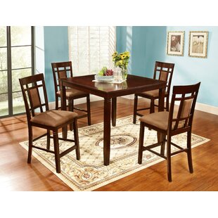 Delphos 5 Piece Counter Height Dining Set
