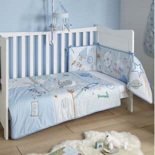 Forty Winks Cot/Cot Bed Quilt and Bumper Bedding Set by Clair De Lune