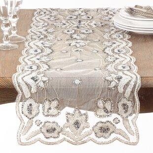 Hand Beaded Tablecloth | Wayfair