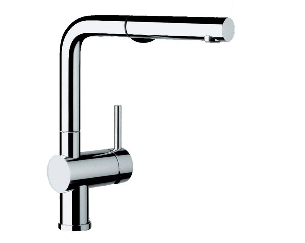 Blanco Linus Pull Out Single Handle Kitchen Faucet & Reviews | Wayfair
