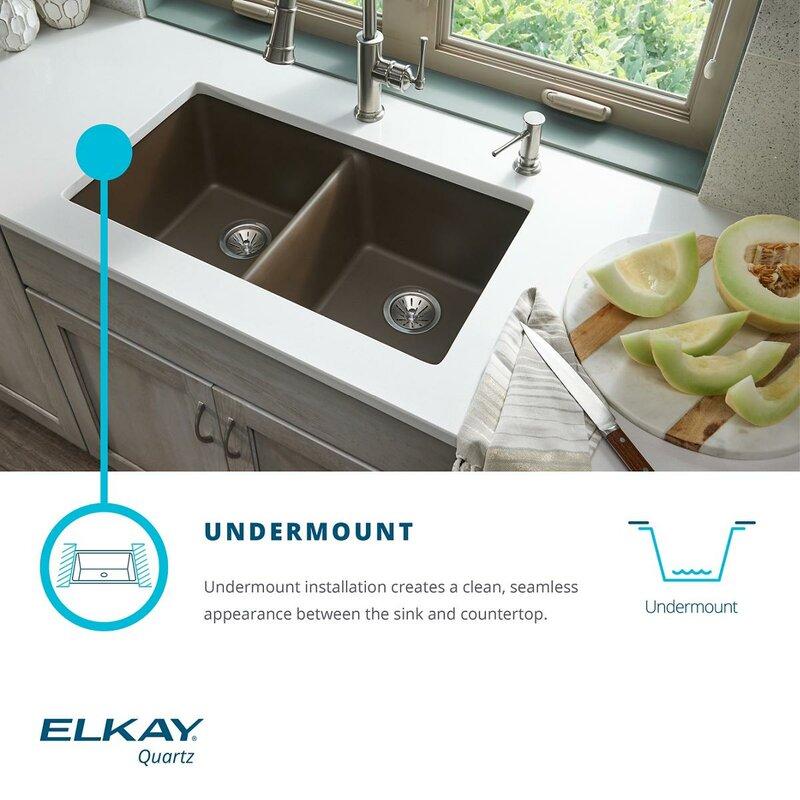 Undercounter Kitchen Sink Black Fibergl on