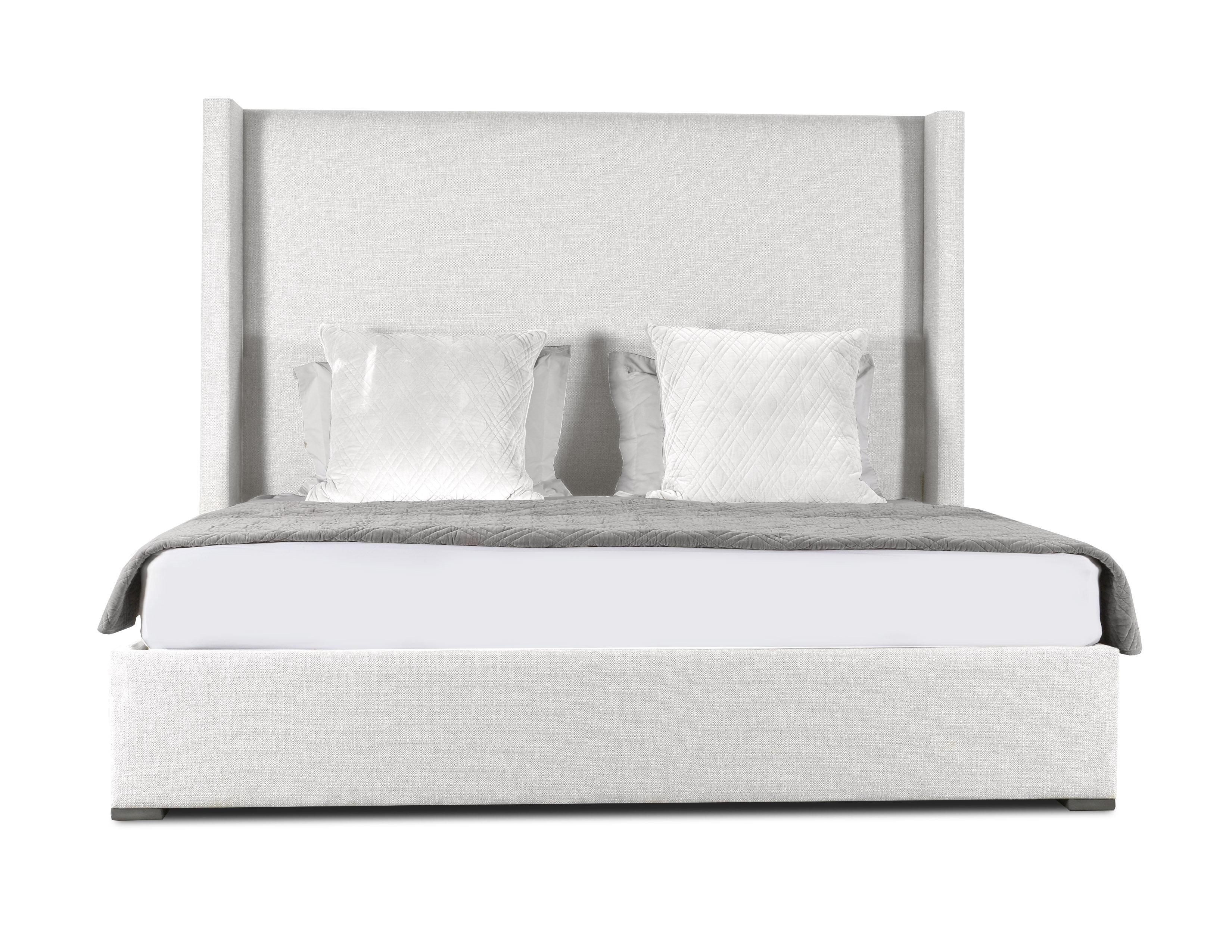 Brayden Studio Hansen Plain Upholstered Panel Bed & Reviews | Wayfair
