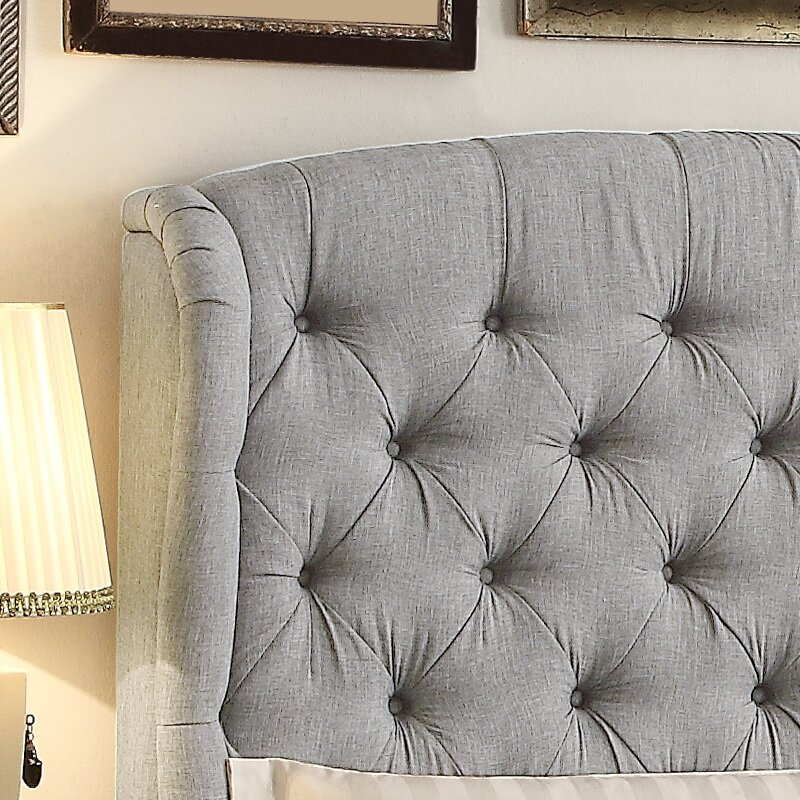 Seattle Upholstered Panel Bed Amp Reviews Joss Amp Main