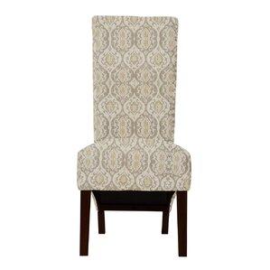 Audra Isla Fabric Parsons Chair (Set of 2..