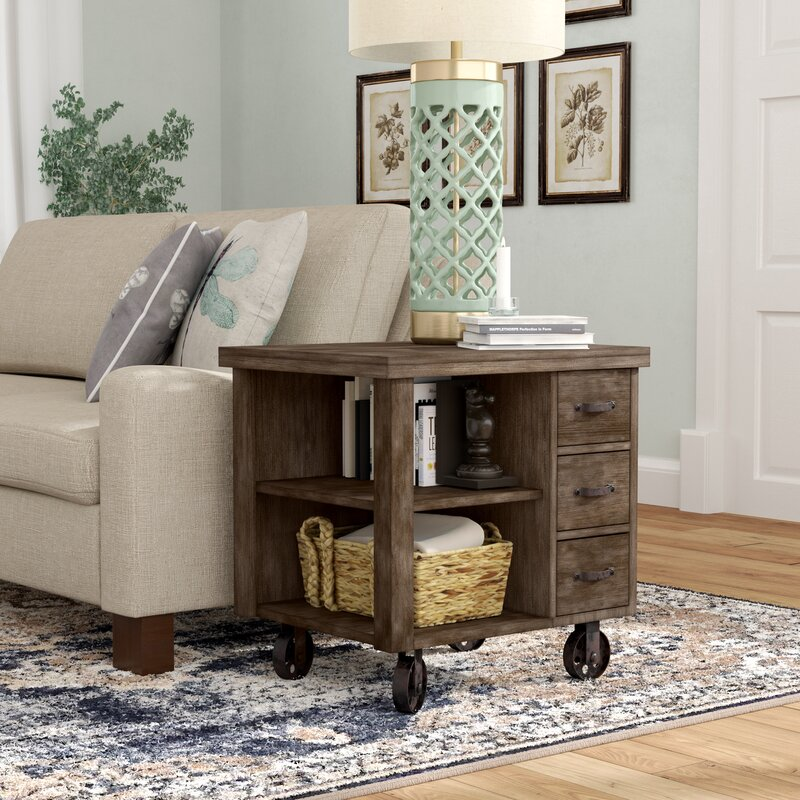 27 Eclectic Farmhouse Decor Family Rooms Coffee Tables 61: Laurel Foundry Modern Farmhouse Remy End Table With