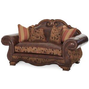 Toscano Leather Sofa by Michael Amini (AICO)
