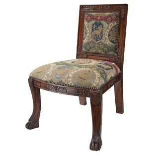 Beardsley Heraldic Lion Chair Side