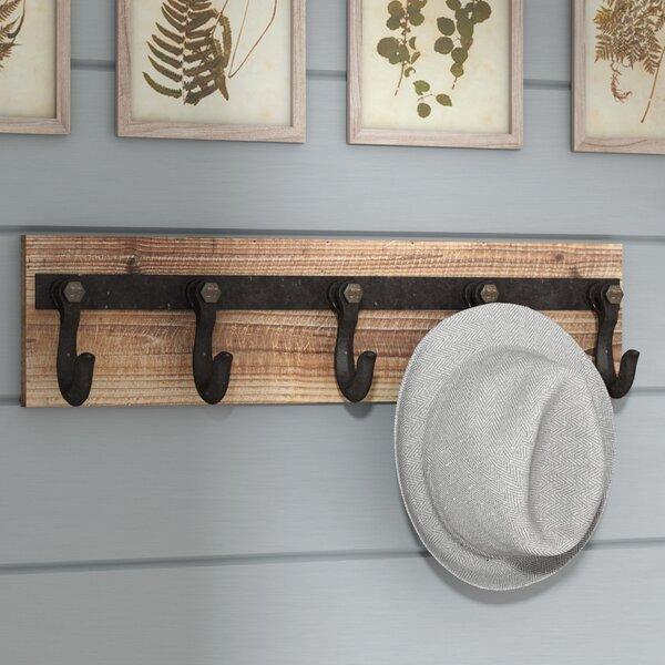 Kids Wall Coat Hooks Wayfair Extraordinary Vintage Style Coat Hook Rack With Shelf