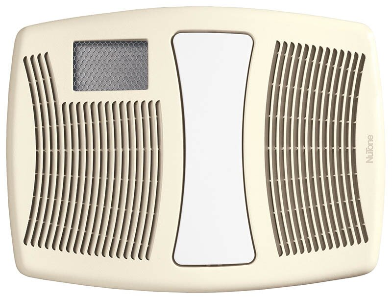 Broan 110 CFM Bathroom Fan With Heater And Light & Reviews