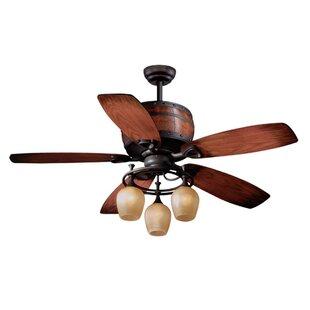 Art deco ceiling fan wayfair bruck 5 blade ceiling fan aloadofball Images